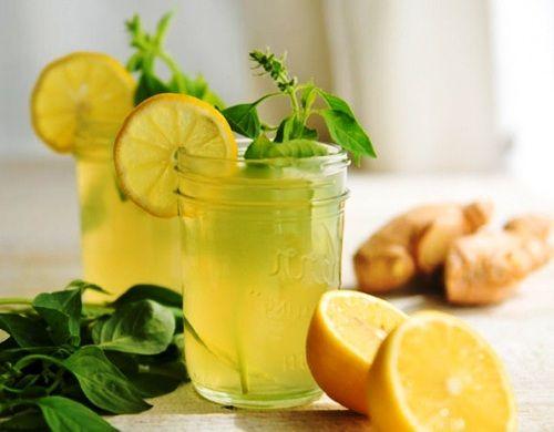 Имбирный лимонад, рецепт