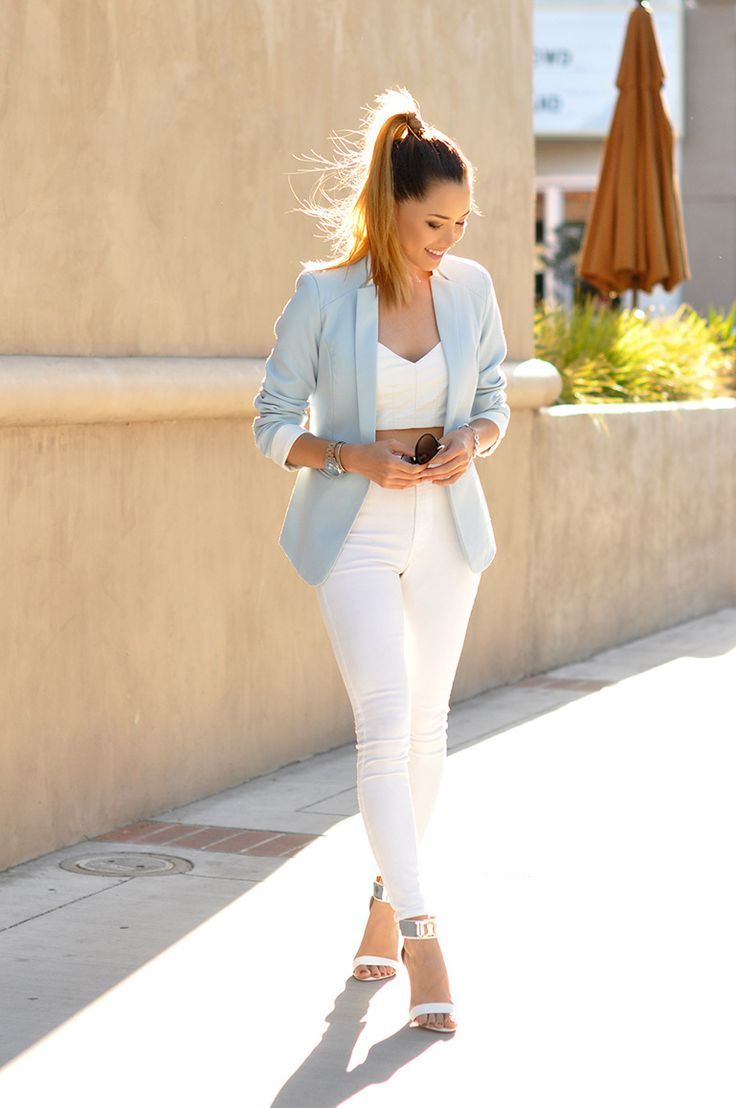 Best 20 Light Blue Blazers Ideas On Pinterest