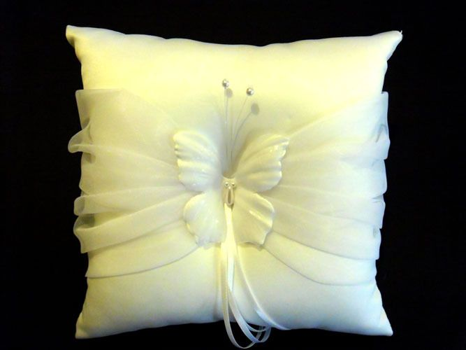 Ring Bearer Pillow – Butterfly