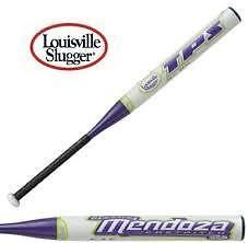 Softball-Fastpitch 71089: New Louisville Slugger Jess Mendoza Fpxm 33/22 Fastpitch Softball Bat White/Pur BUY IT NOW ONLY: $49.95
