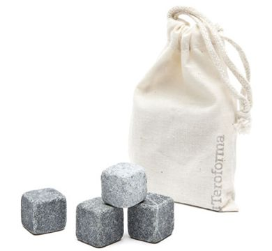 TEROFORMA WHISKY STONES  $26.95  PERFECT FOR KEEPING WHITE WINE COOL ON A HOT SUMMER DAY