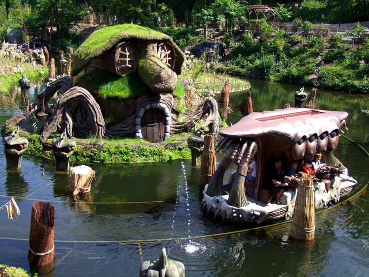 Phantasialand - Freizeitpark in Brühl   PARKSCOUT.DE