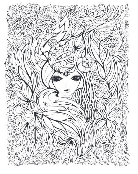 partvonal_varazslatos_arcokjpg coloring bookcolouringdrawings