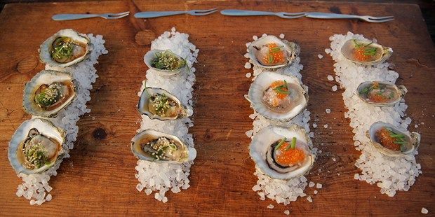 Coffin Bay Oysters – Two Ways - Matt Moran