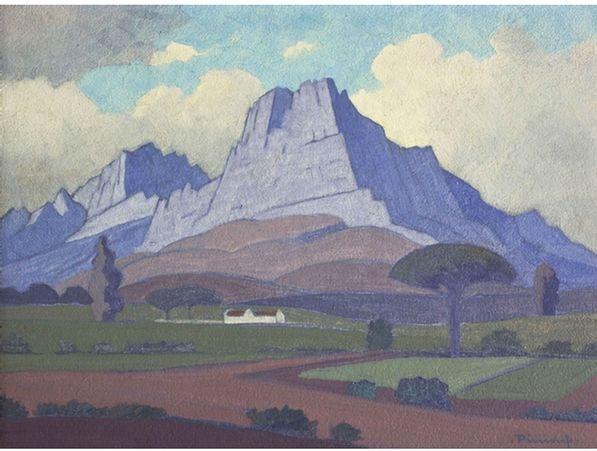 Jacob Hendrik Pierneef; Stellenbosberg (sic)