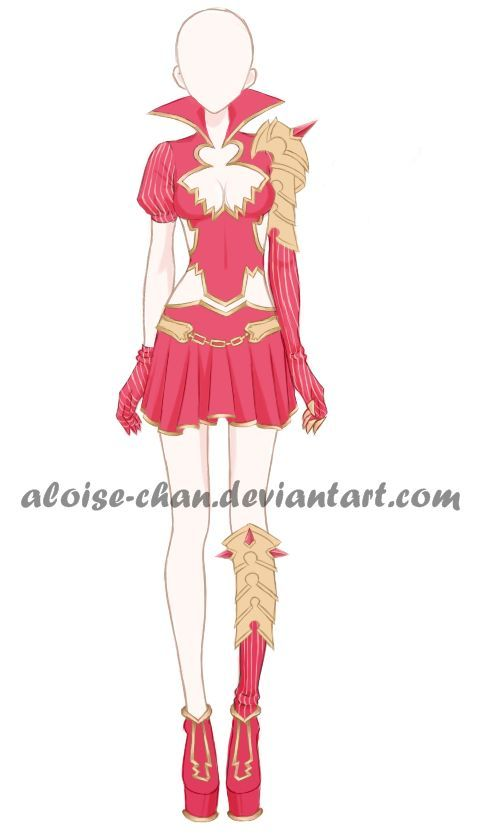 innovative anime fire outfit 16