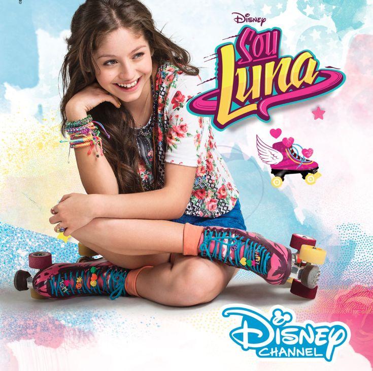 Ny serie på Disney Channel! Fylt med musikk, rulleskøyter og utfordringer - Soy Luna er en splitter ny TV-serie fra skaperne av suksesserien Violetta.