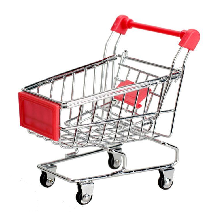 Mini Supermarket Carretto Carrello della Spesa Utility Modalità di Archiviazione Di Toy Red New Posta di SME DHL BS1V