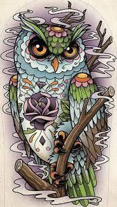 ผลการค้นหารูปภาพสำหรับ owl drawing