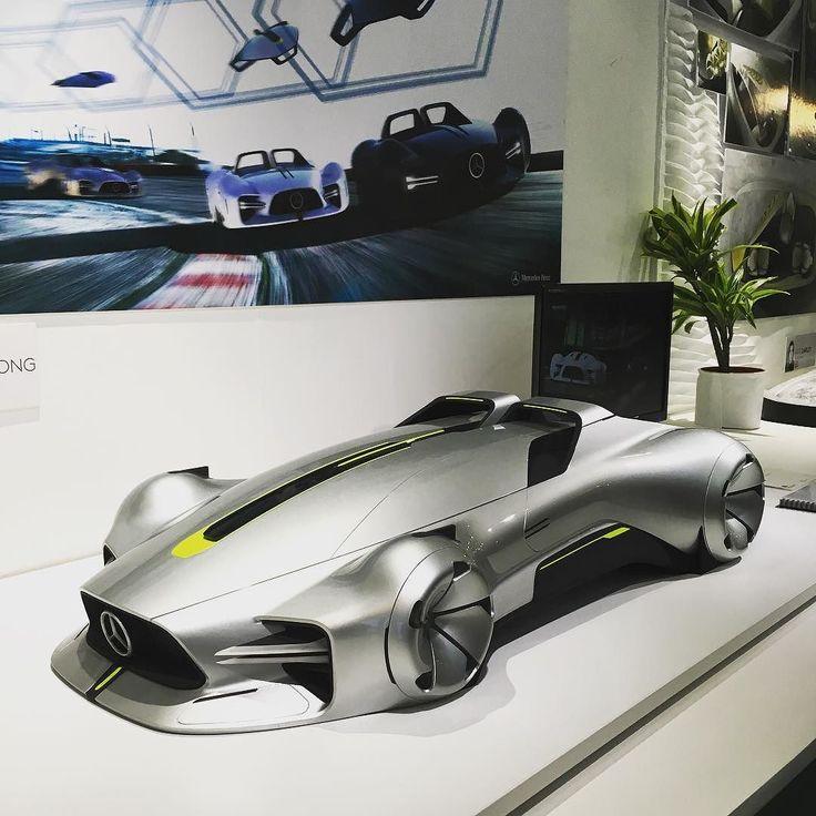 Hosan Song's #Mercedes Autonomous Racing Vehicle #RCA #VehicleDesign | car concept design | Transportation design, Futuristic cars, Automotive design