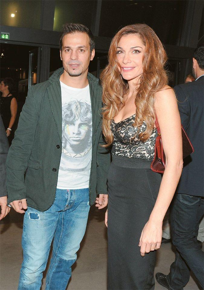 Despina Vandi and husband (Demis Nikolaidis, ex-international soccer)