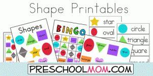 Shape Printables