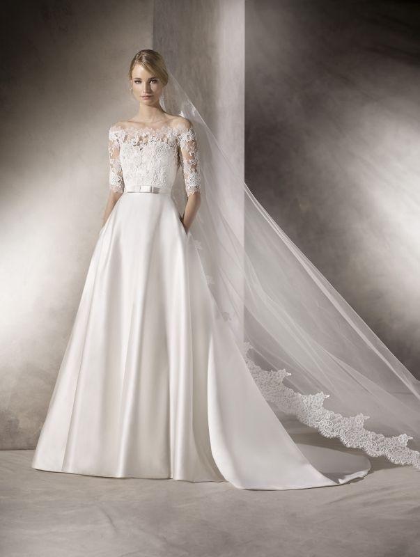 Szukasz wyjątkowej, eleganckiej a zarazem oryginalnej sukni ślubnej? Sprawdź model sukni LA SPOSA HALEWYN