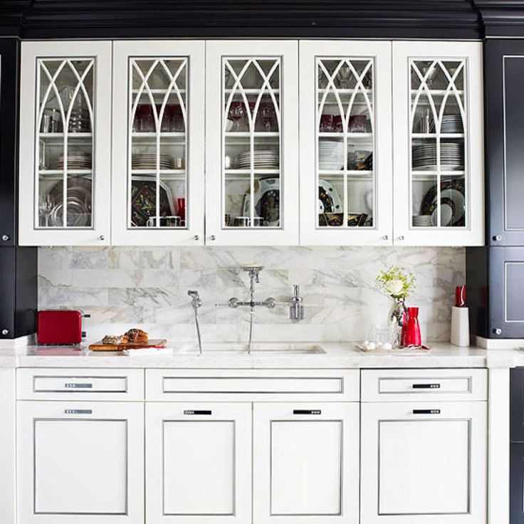 How To Put Glass In Kitchen Cabinet Doors: Best 25+ Cabinet With Glass Doors Ideas On Pinterest