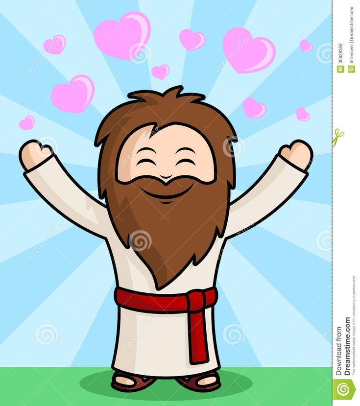 Jesus Cartoon Character Jesus cartoon character