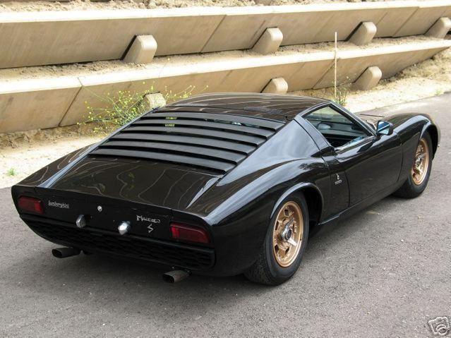 1969 Lamborghini Miura S P400