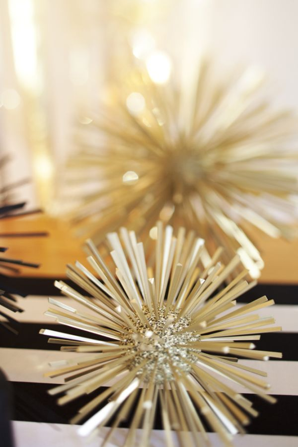 Easy Last-Minute DIY New Year's Eve Party Ideas