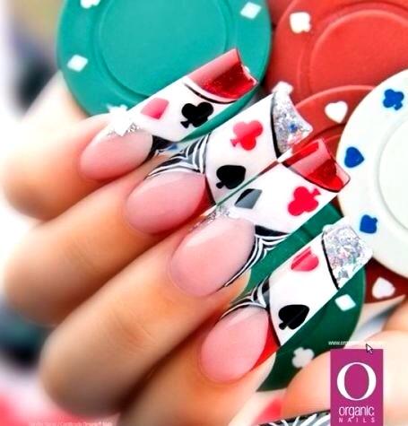 16 best vegas nail art images on pinterest vegas nail art las poker nail art prinsesfo Choice Image