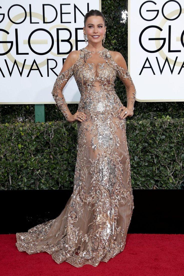 FunFunky.com Sofia Vergara – 74th Annual Golden Globe Awards : Global Celebrtities (F)
