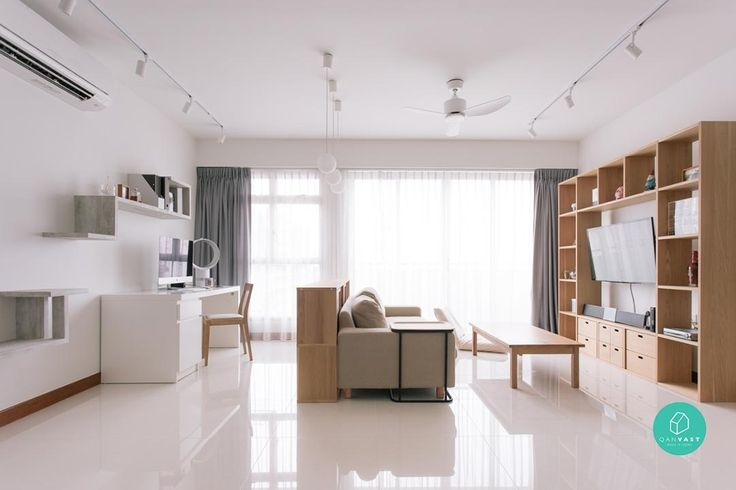 7 Bright And Breezy Living Room Ideas You'll Love | Article | Qanvast | Home Design, Renovation, Remodelling & Furnishing Ideas
