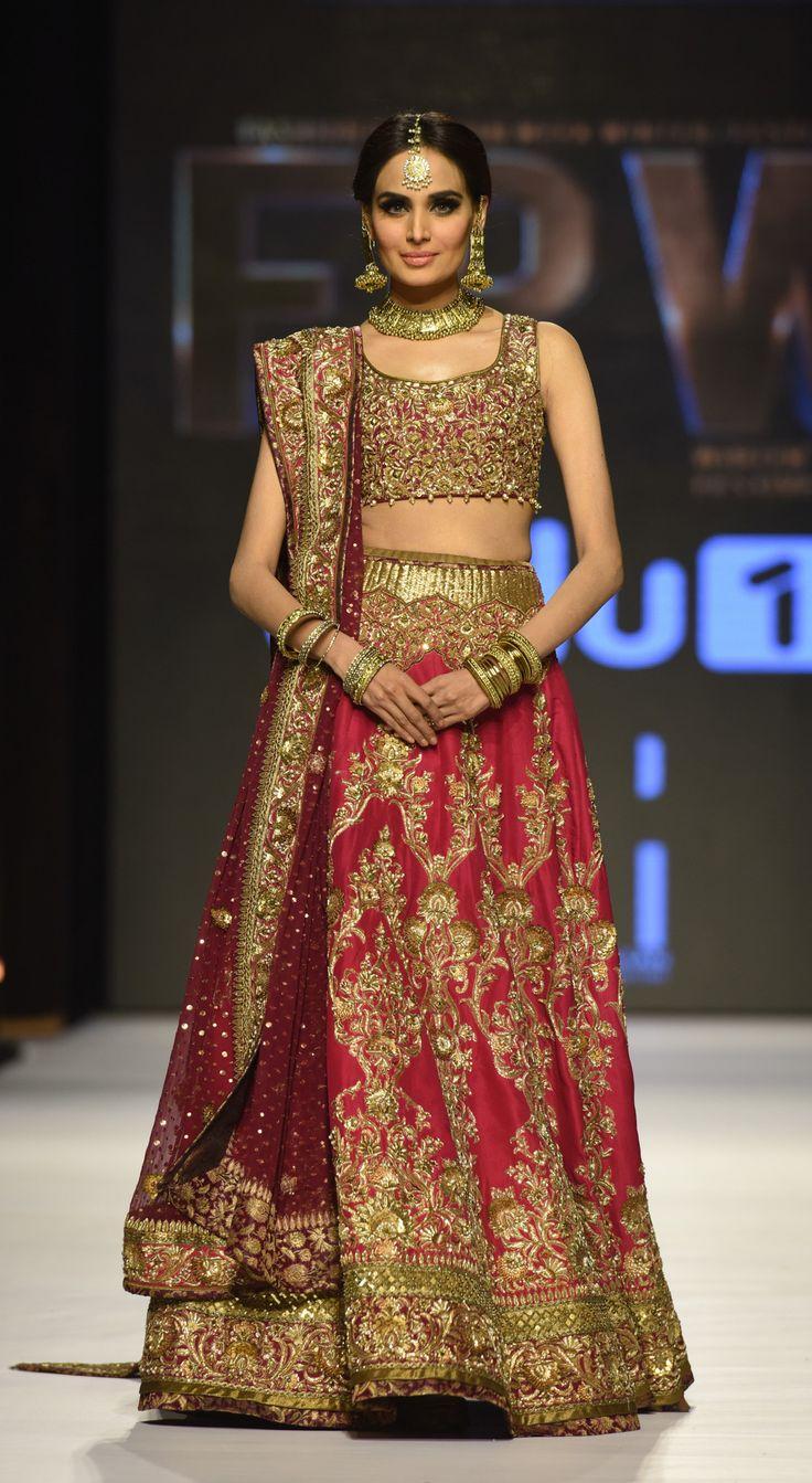 Zaheer Abbas Collection titled 'Baad-e-Naubahar' at Fashion Pakistan Week 2015