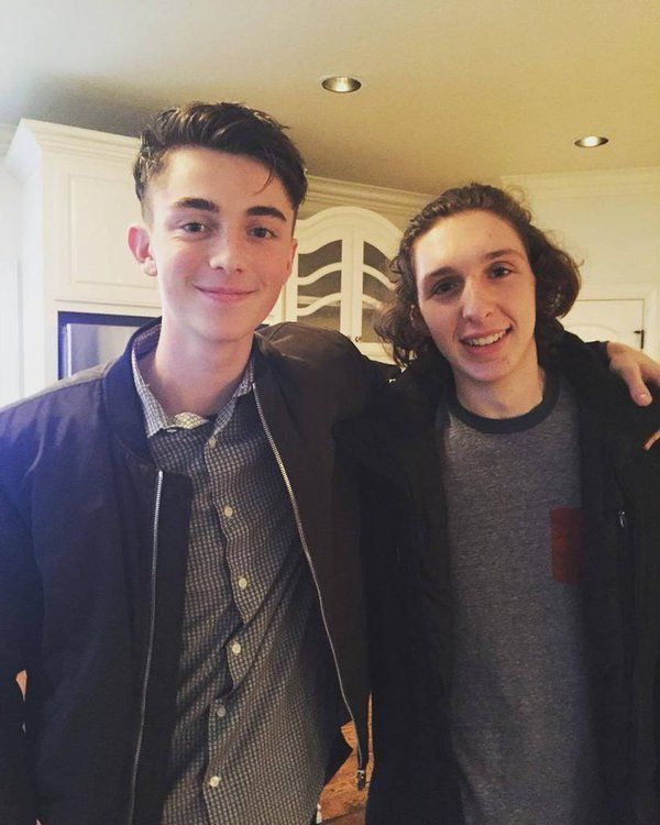greyson chance and his bestfriend