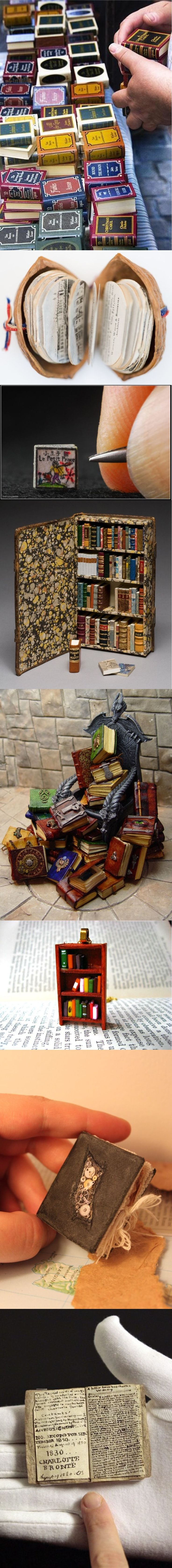 Miniature books. Fascinating handicrafts and more ..http://www.cavendishsq.com/