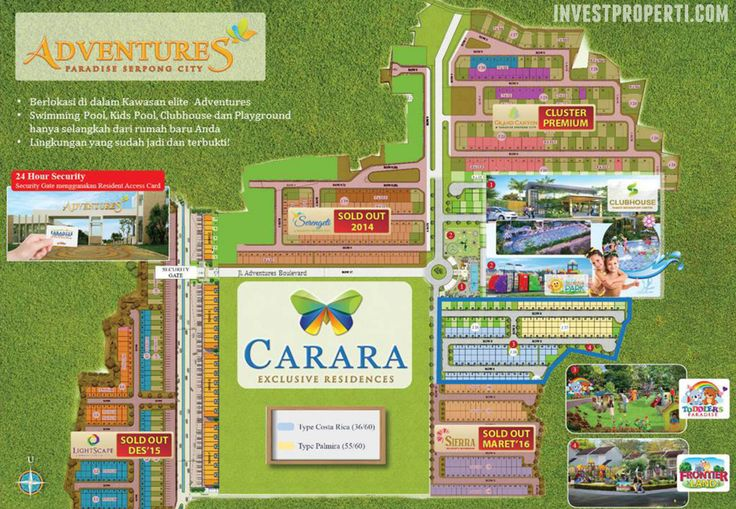 Paradise Serpong City Master Plan #paradiseserpongcity