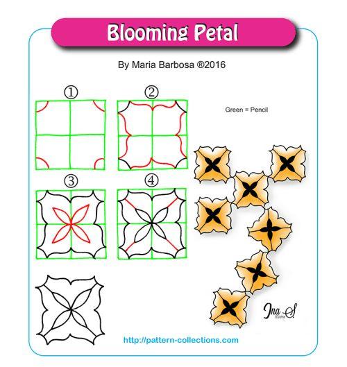 Blooming Petal by Maria Barbosa