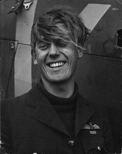 Flying Officer Albert Gerald Lewis, a top ace of the RAF. The South African, pictured here at 22, shot down at least 28 Luftwaffe fighters -- including, on one memorable day, six in a six-hour span.