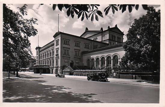 Berlin, Krolloper, Platz der Republik, ca 1930.