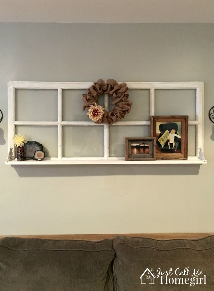 old window shelf