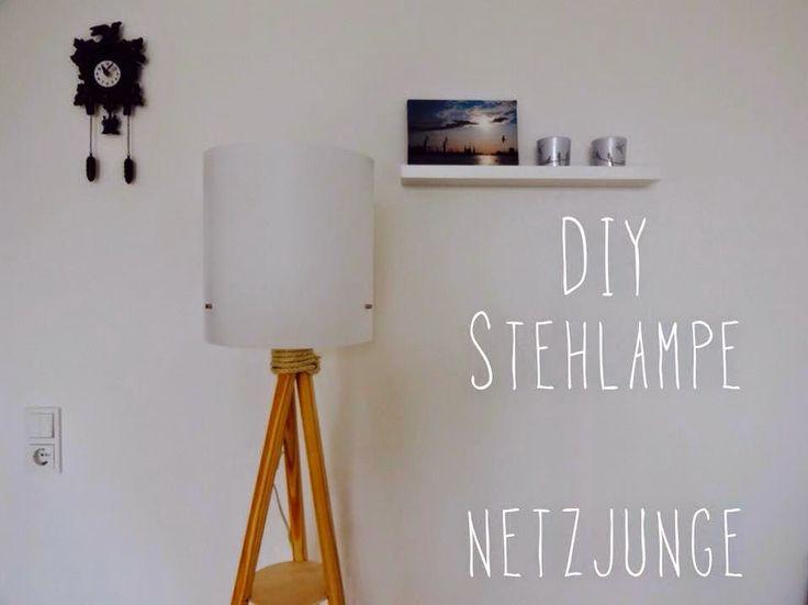 Selfmade Stehlampe!