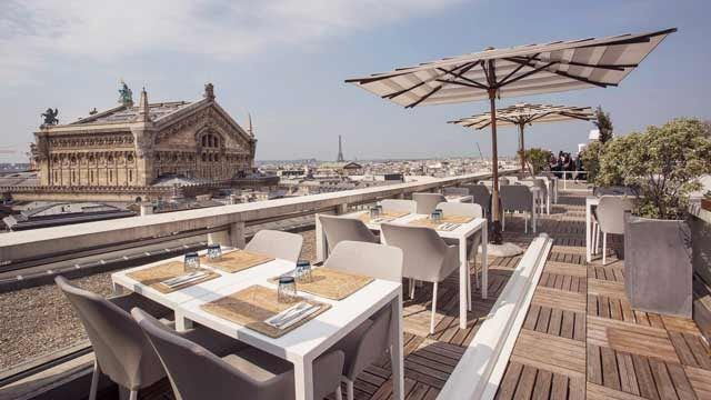 The Cube Bar At Galeries Lafayette Rooftop Bar In Paris The Paris Club Neue Rooftop Bar In Dusseldorf In 2020 Rooftop Restaurant Terrace Restaurant Best Rooftop Bars