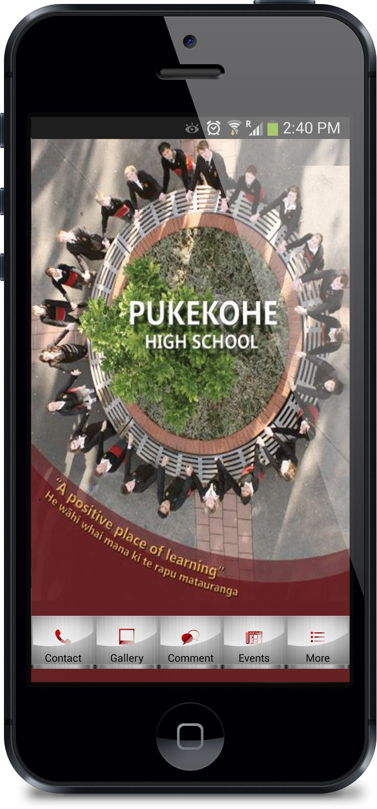 Mobile School App - Keeping in touch with students, staff and parents. School iPhone and Android Apps by Mobile App FX - http://www.mobileappfx.co.nz
