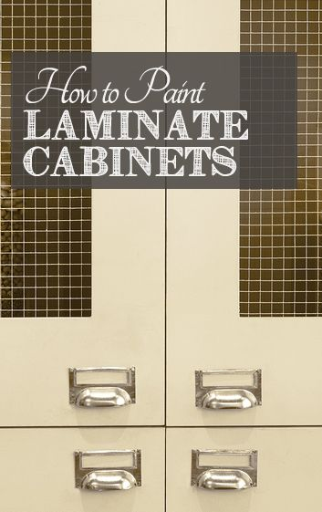 How To Paint Laminate Cabinets In Bathroom the 25+ best paint laminate cabinets ideas on pinterest | painting