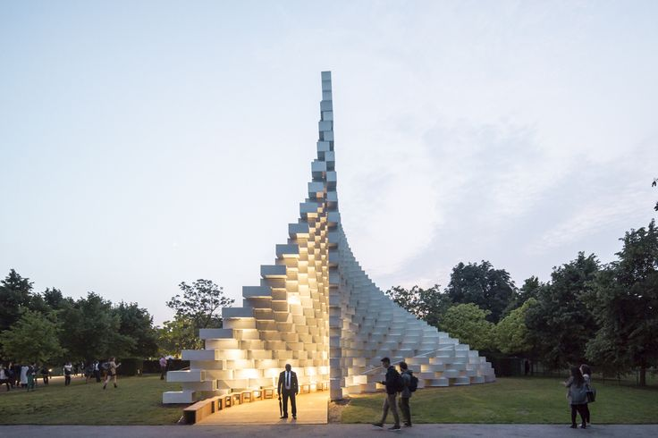 Round-Up: The Serpentine Pavilion Through the Years,Serpentine Pavilion 2016. Image © Laurian Ghinitoiu