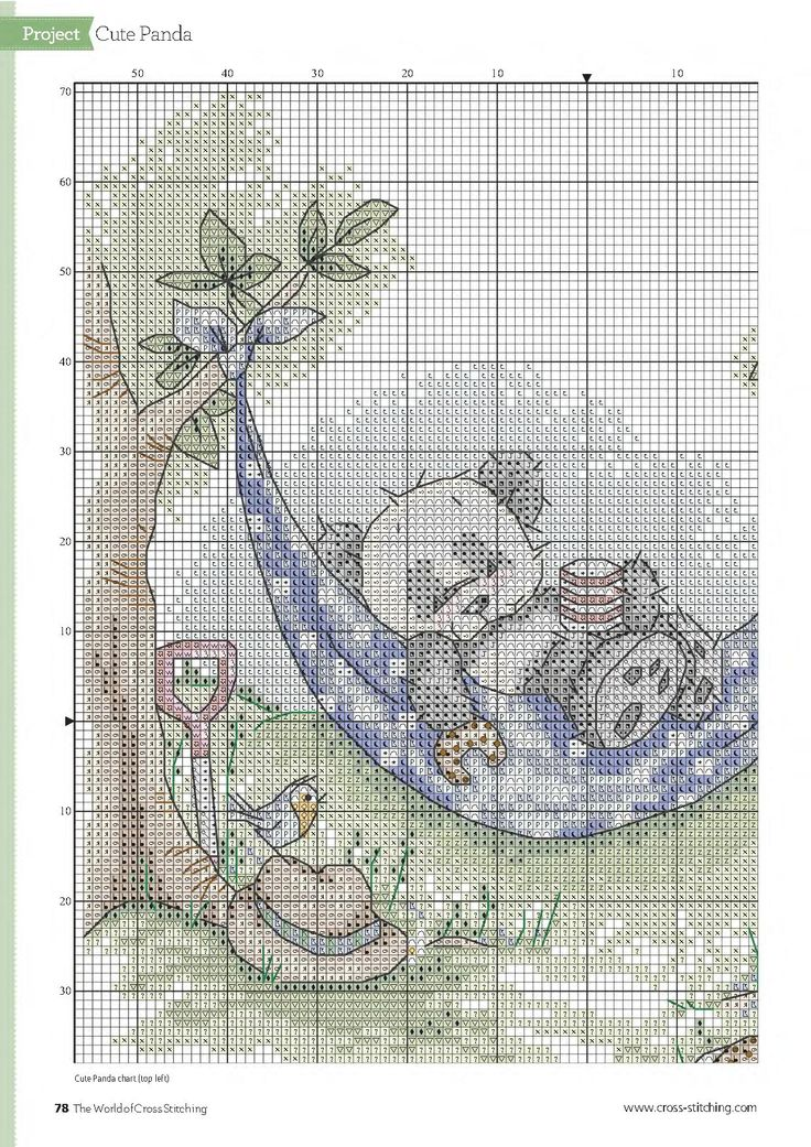 Cross-stitch patterns - Borduur patronen (2)