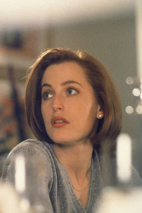 I have a major girl crush on Gillian Anderson.
