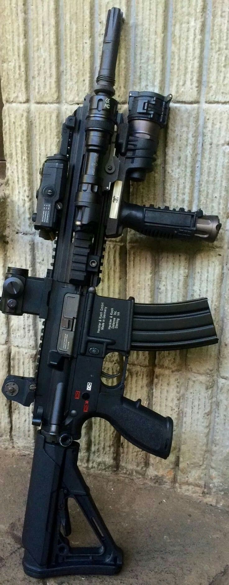 HK MR556 the Holy Grail of m4 type carbines!