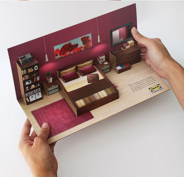 Ikea Pop-up DM by Ali Mokdad, via Behance