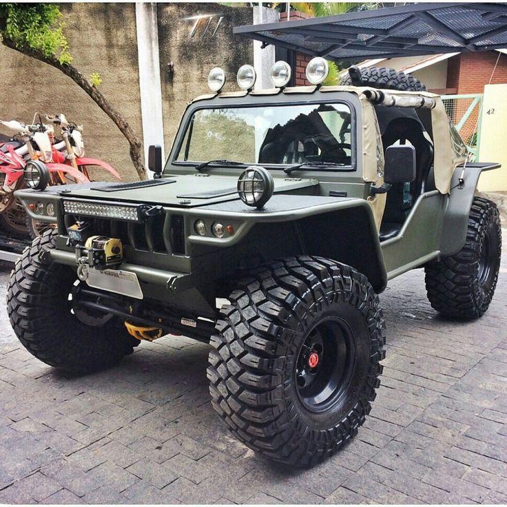 """""""Jeep F75 modificado de Mairiporã-SP, com motor de Troller, Câmbio de Frontier, Suspensão independente e bloqueios nos eixos!"""""""
