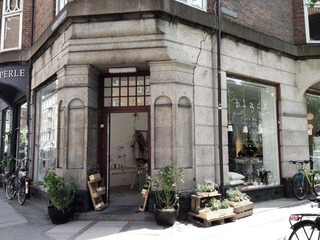 Pretty store front - Anne Black Concept Shop Copenhagen/Remodelista