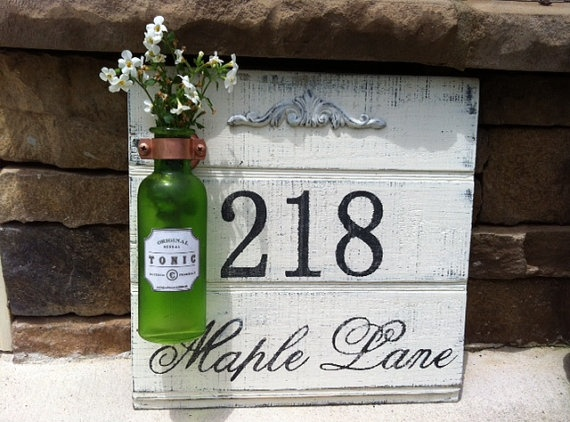 25+ Best Ideas About Address Signs On Pinterest