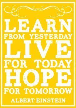 INSPIRATIONAL QUOTES CLASSROOM DECOR POSTERS SUNNY DAYS YELLOW VINTAGE - TeachersPayTeachers.com