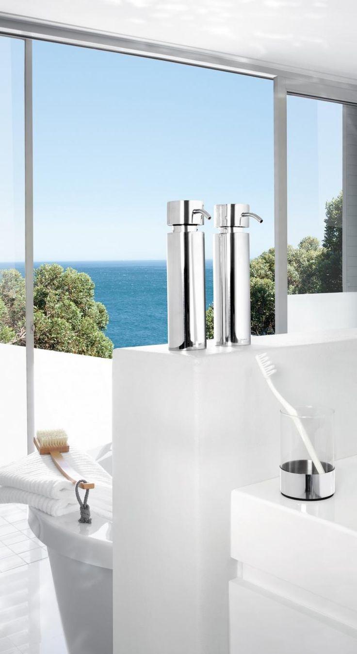 Dozownik do mydła NEXIO, polerowany - Blomus - DECO Salon #soap #bathroomaccessories #bathroom