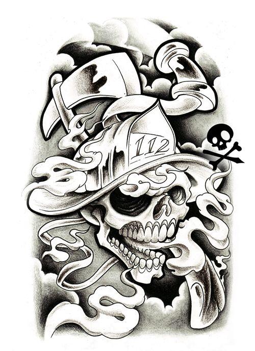 Tattoo Flash Art Black And White Guitar: Black And Grey Tattoo Flash - Google Search