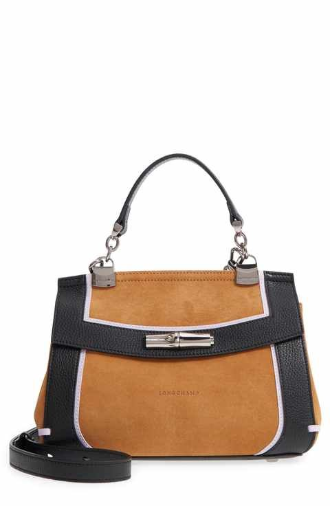 2f604dd81978 Longchamp Madeleine Colorblock Leather Satchel