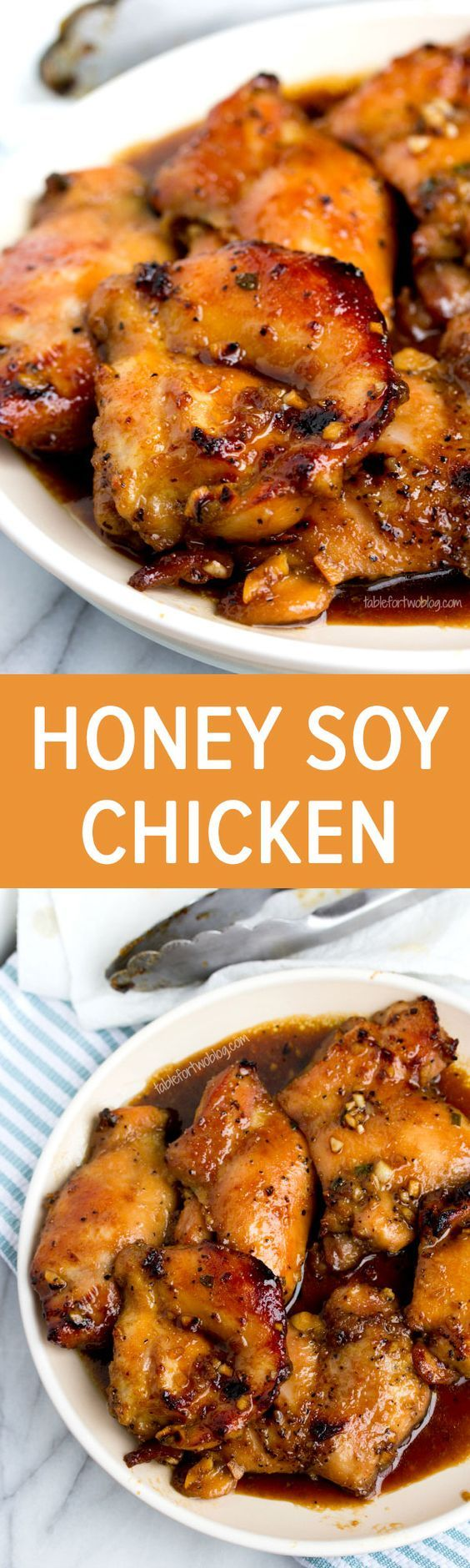 Honey Soy Chicken from www.tablefortwobl...