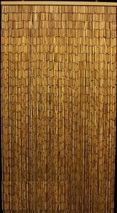 Bamboo Curtain for Doorway, 90 Strand Plain Bamboo Beaded Curtains, Bamboo Curtains with a lot of coverage, Natural Bamboo Beads Curtain, Buy Bamboo Curtains, Beach Cottage Curtains